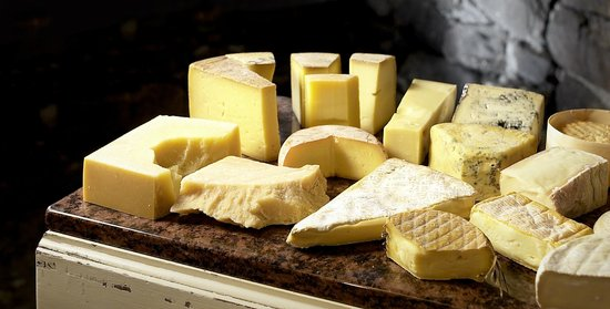 Gasthaus Schlussel : Gabrielle's cheese selection