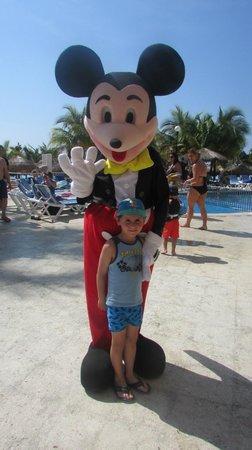 Viva Wyndham Maya : Luca et Mickey mexicain!!!