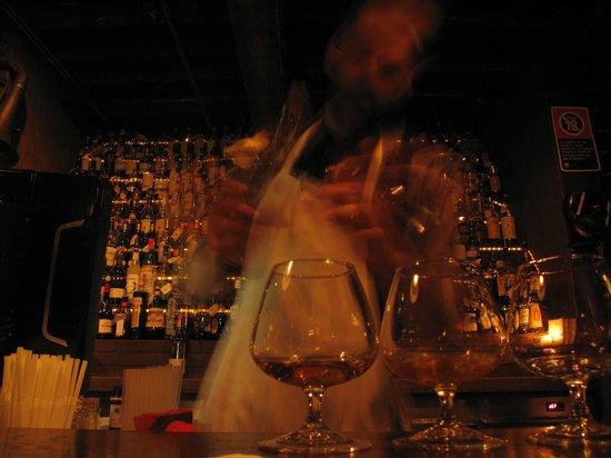 The Baxter Inn : Ricos whiskys