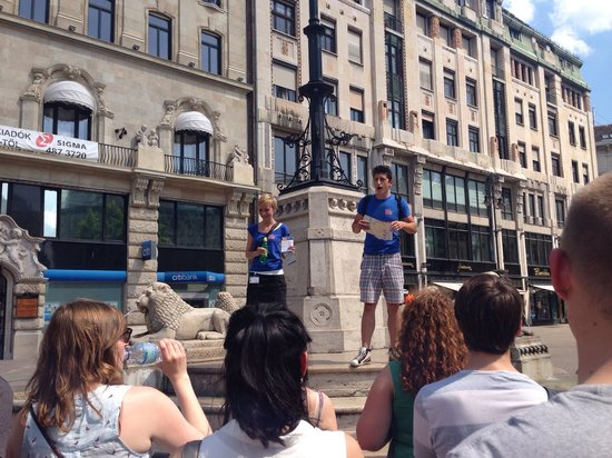 Free Budapest Walking Tours: Orshi & Peter - awesome guides :-)
