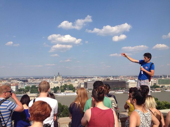Free Budapest Walking Tours: Vista, panoramic views of the city