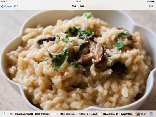 Pomodoro Trattoria & Wine Bar: mushroom, lemon, rosemary risotto, parmesan reggiano