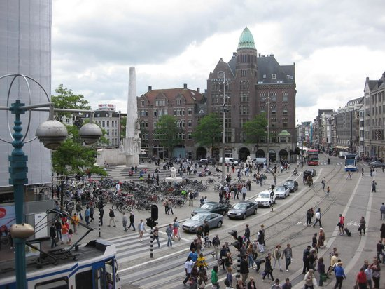 Swissotel Amsterdam: view from room