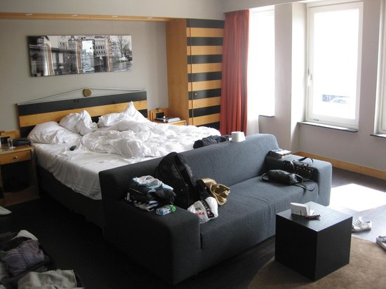 Swissotel Amsterdam: suite