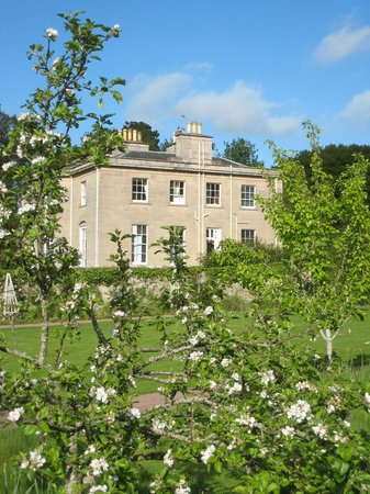 Boath House Hotel: From the walled garden