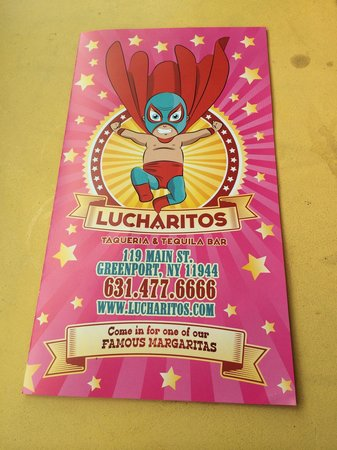 Lucharito's: Menu