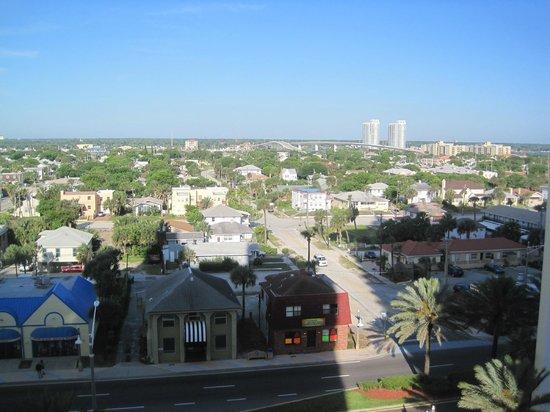 Wyndham Ocean Walk: city view from room