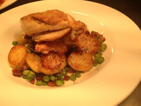 The Green Man at Lindsell: Chicken supreme