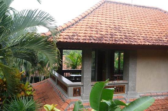 Villa Sonia: the view from our room