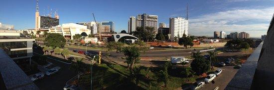 Brasilia Imperial Hotel e Eventos : Vista da Varanda do Hotel