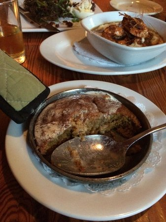 Dante's Kitchen : I forgot about the spoon bread - amazing!