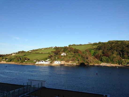 Salcombe Harbour Hotel & Spa : View across the estuary