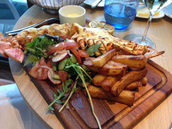 Salcombe Harbour Hotel & Spa : Hugh Lobster