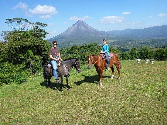Horseback Riding at Arenal Lodge