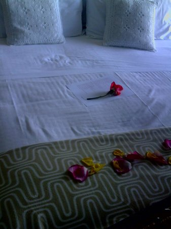 Villa Monica B&B : always flowers in your room