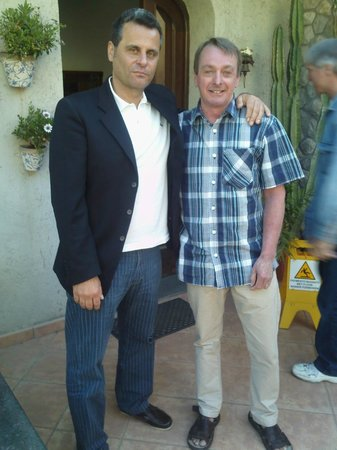 Villa Monica B&B : With Mr Hammond ;)