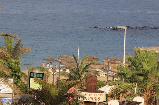 Gran Tacande Wellness & Relax Costa Adeje: Из номера виден океан и пляж