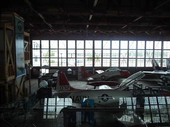Naval Air Station Wildwood Aviation Museum: Ariel view  Love it!