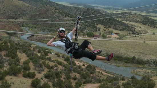 Royal Gorge Zip Line Tours : JAMES!!!