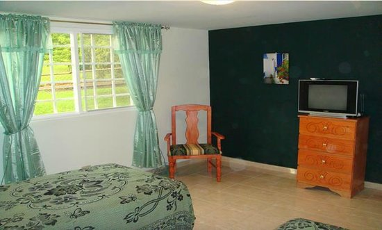 Bell Park View Guest House: Green Room
