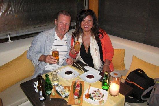 Wonderful food & memories at Ginger Sushi Lounge, Firastefani