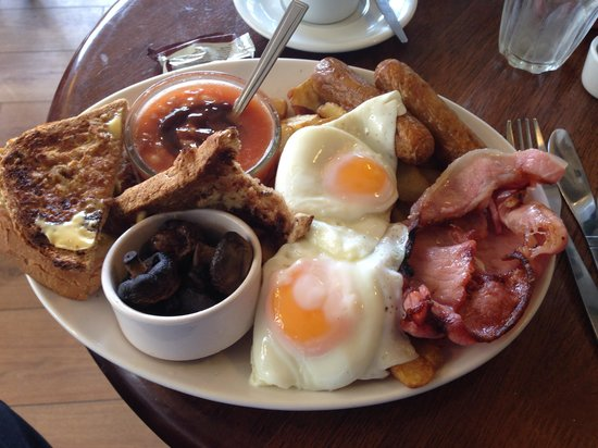 The Corner Cafe: The Hungry Breakfast