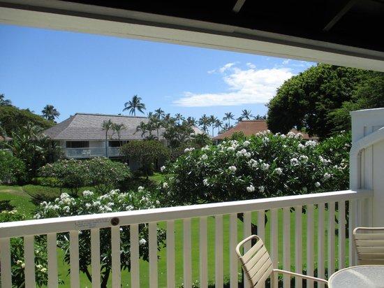 Kiahuna Plantation Resort: unit 61 partical view