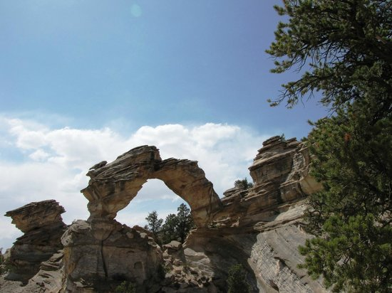 Seldom Seen Adventures: inchworm arch