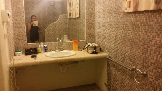 Coco Rio Playa del Carmen: Il bagno della mia stanza