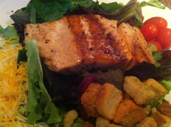The Smokehouse: Amazing Salmon Salad