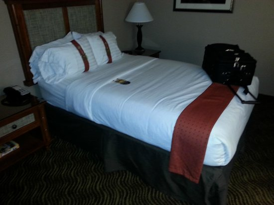 Holiday Inn Austin-Town Lake: Tiny little double bed =(