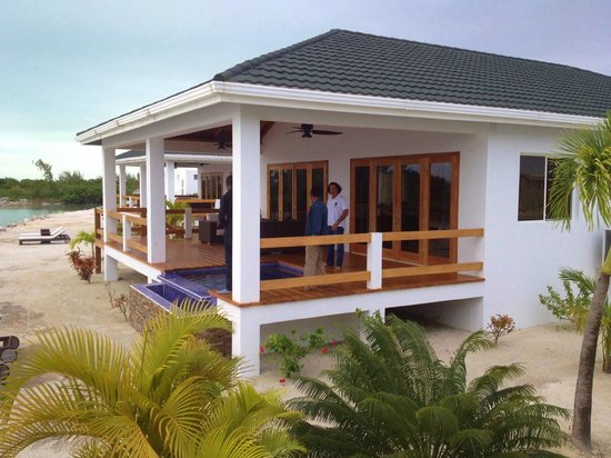 Mayan Islands Resort : Front Deck of Villa 2