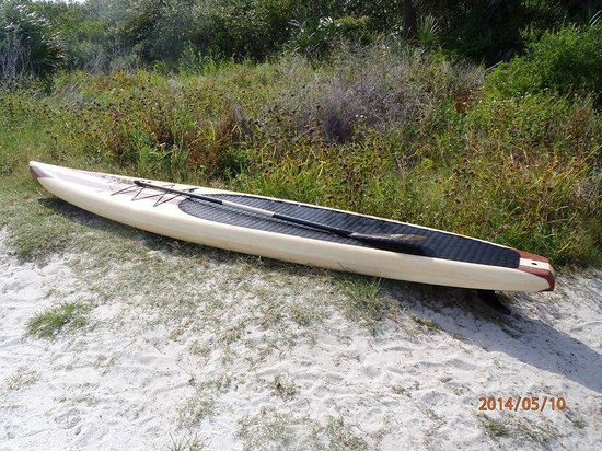 Three Brothers Boards Dolphin and Manatee Paddle Board Tours: New Irish Twin 12'6 race board by Three Brothers Boards