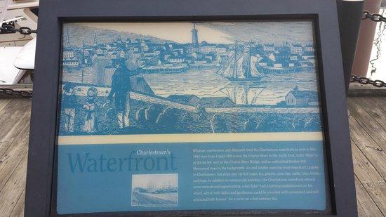 Residence Inn Boston Harbor on Tudor Wharf: Historical Marker