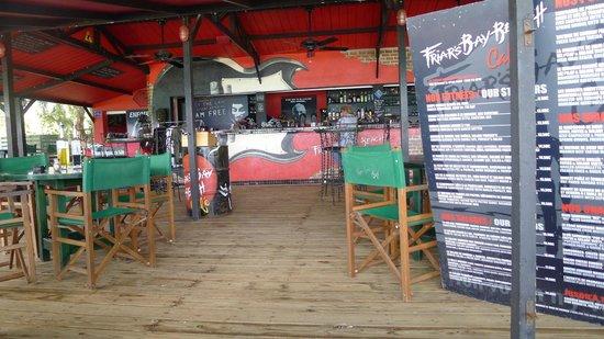 Friars Bay Beach Cafe: Friar's Bay Beach Club