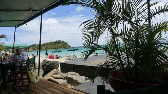 Friars Bay Beach Cafe: The View