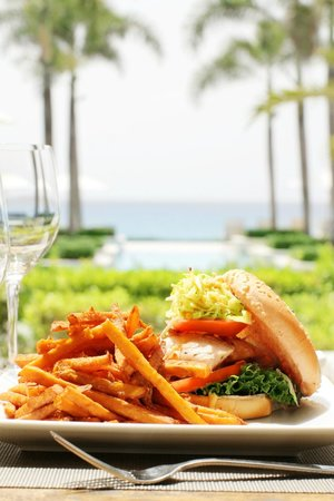 Aleta at Viceroy Anguilla: Fishburger
