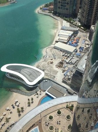 Jumeirah at Etihad Towers: View from Room 2701