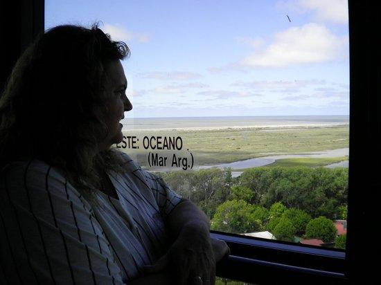 Termas Marinas : Vista desde el Faro San Antonio (dentro de las Termas)