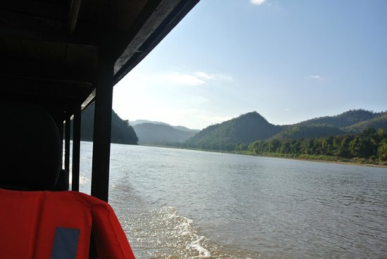 Ma Te Sai: Emi's boat on Mekong