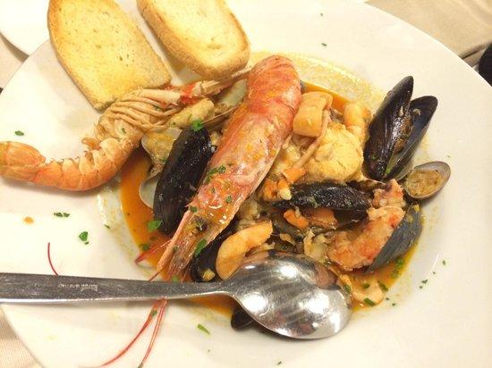 Taverna San Trovaso : 海鲜汤