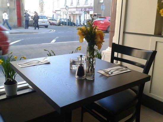 George Street Fish Restaurant & Chip Shop: table setting