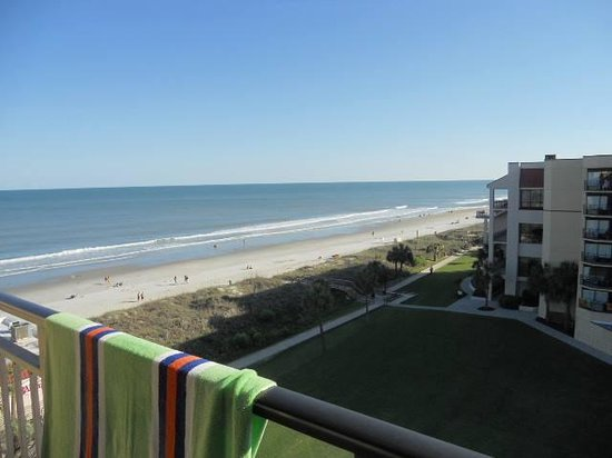 DoubleTree Resort by Hilton Myrtle Beach Oceanfront : Our View from the 6th Floor Live Oak Building