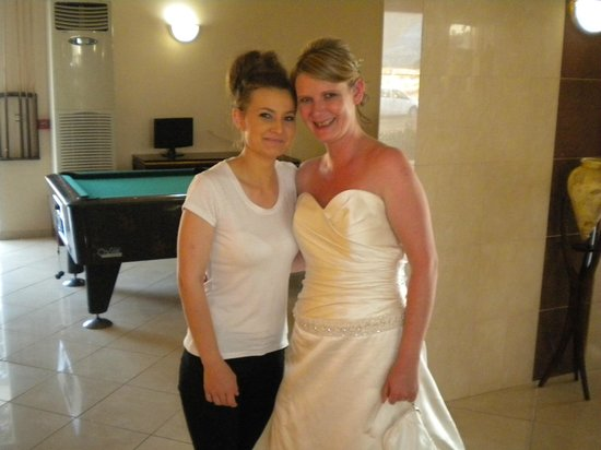 Rodos Star Hotel: Mimi the girl that works really hard