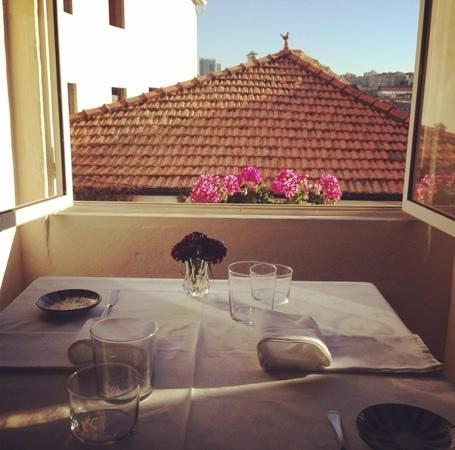 Cometa Restaurante: view