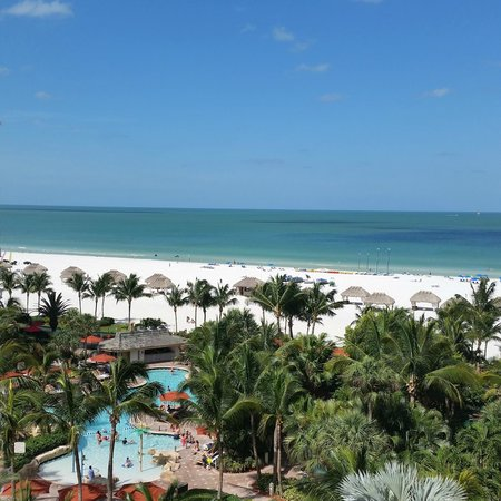JW Marriott Marco Island Beach Resort : View from my room on 7th floor