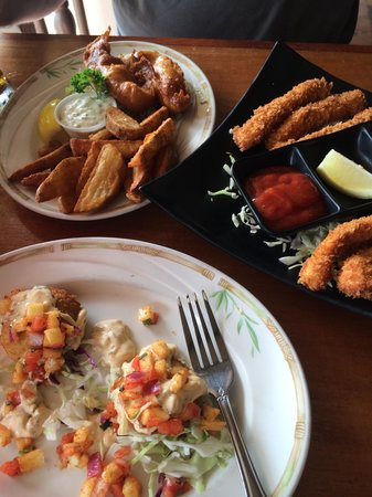 Captain Jack's Island Grill: our food