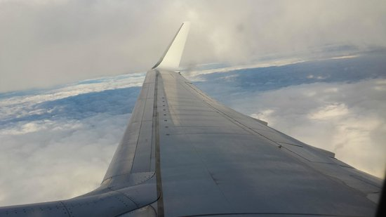 Albir Garden Resort: our flight