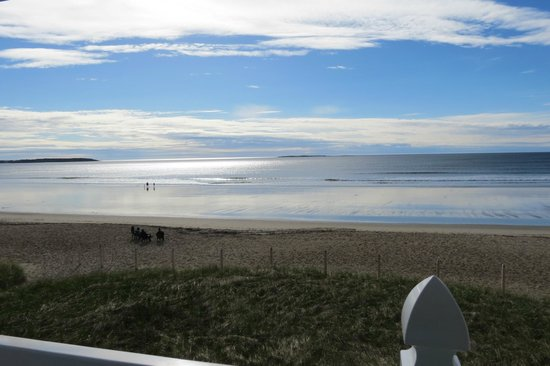 The Beach House : View from our back deck/balcony