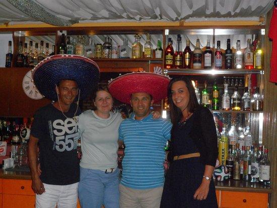Katia Apartments: friendly owners joanna and alex